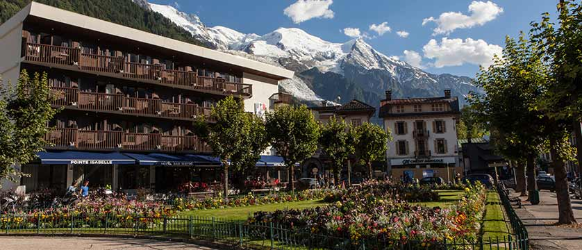 Hotel Pointe Isabelle, Exterior with Mont Blanc in background.jpg